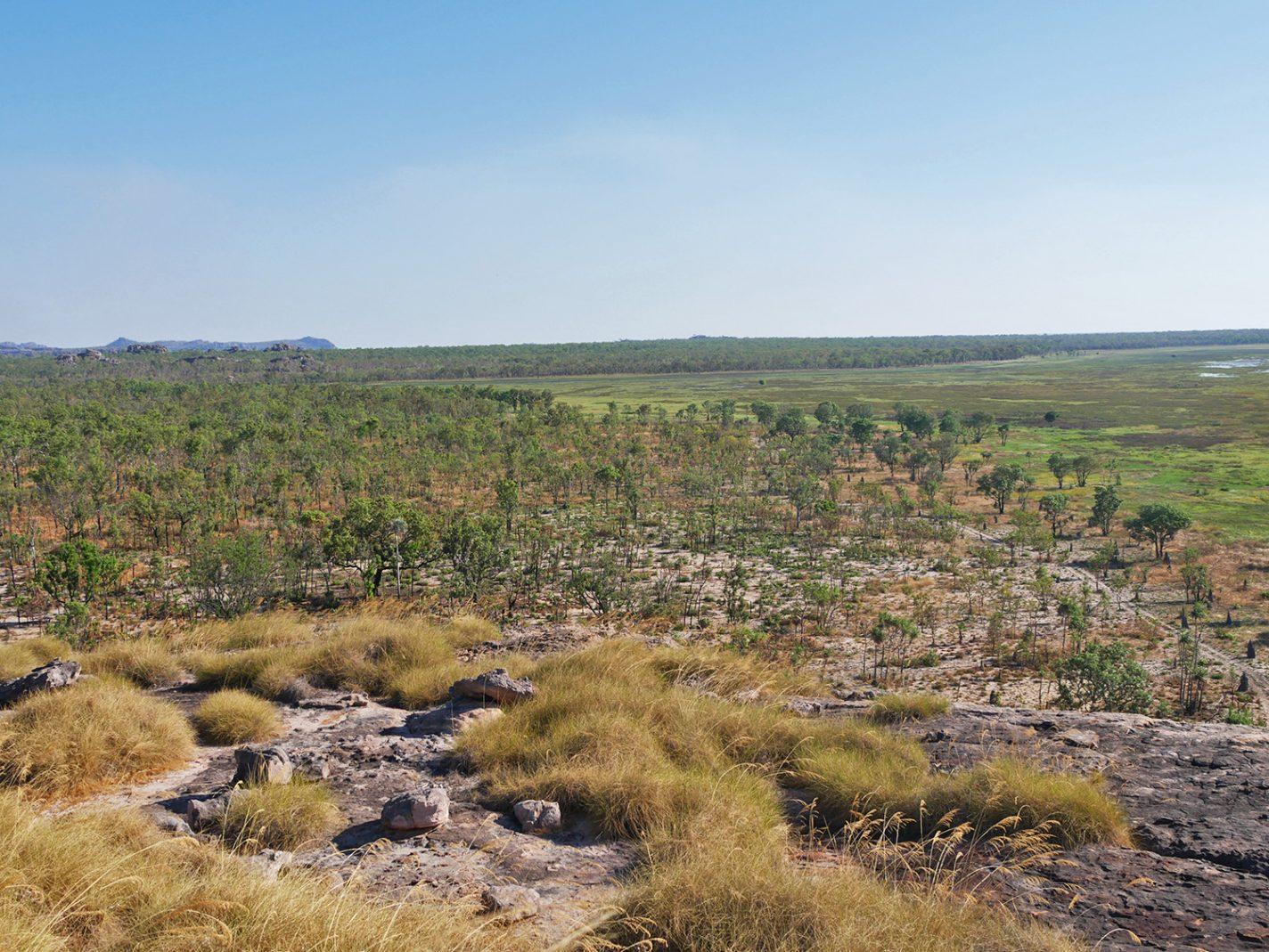 Uitzicht vanaf de Ubirr Rock