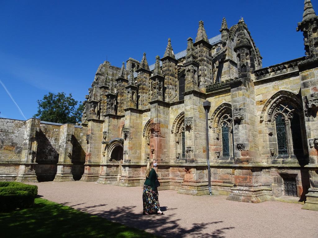 Aan Rosslyn Chapel