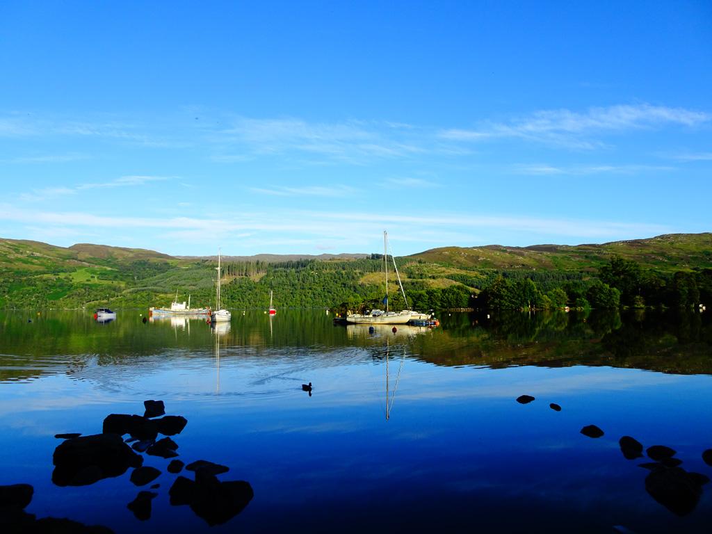 Aan het einde van Loch Ness
