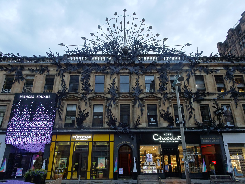 Art-decoarchitectuur in Glasgow - Schotland