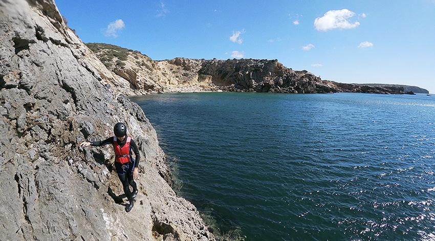Coasteering – De Algarve, Portugal