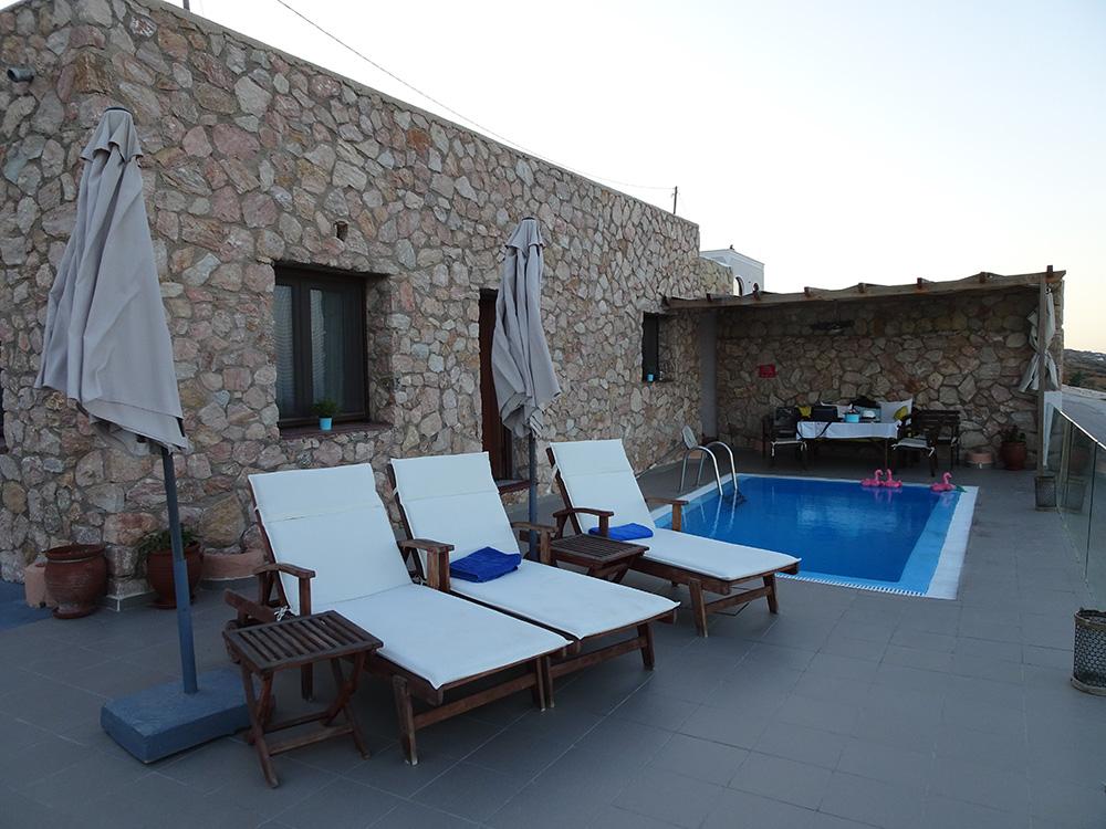 De pittoreske Dream Villa Santorini