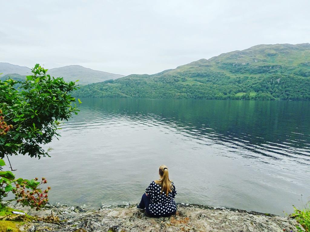 Gastblogger Valerie aan Loch Lomond - Schotland