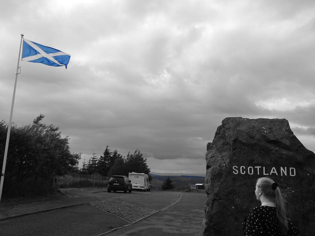 Gastblogger Valerie aan de Schotse grens