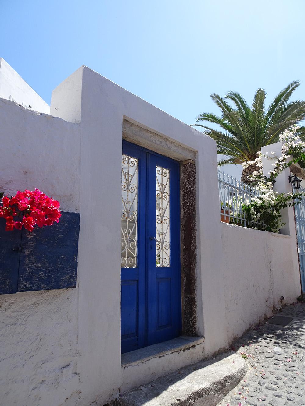 Het pittoreske Santorini