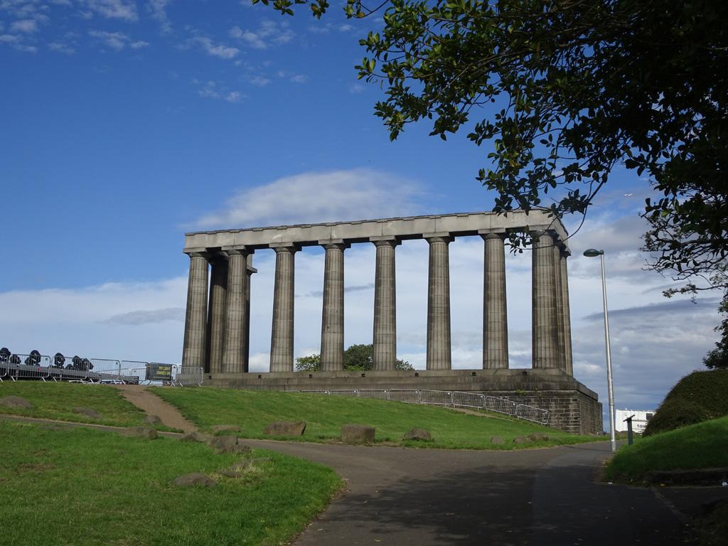 Nationaal monument op Calton Hill