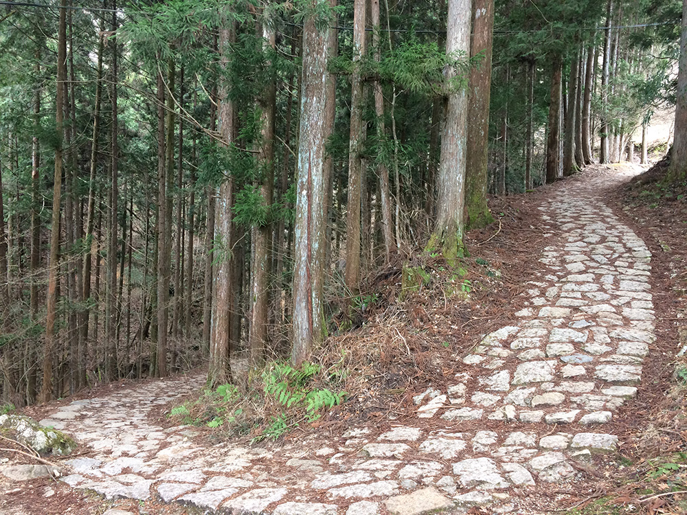 Pelgrimsroute van Tsumago naar Magome