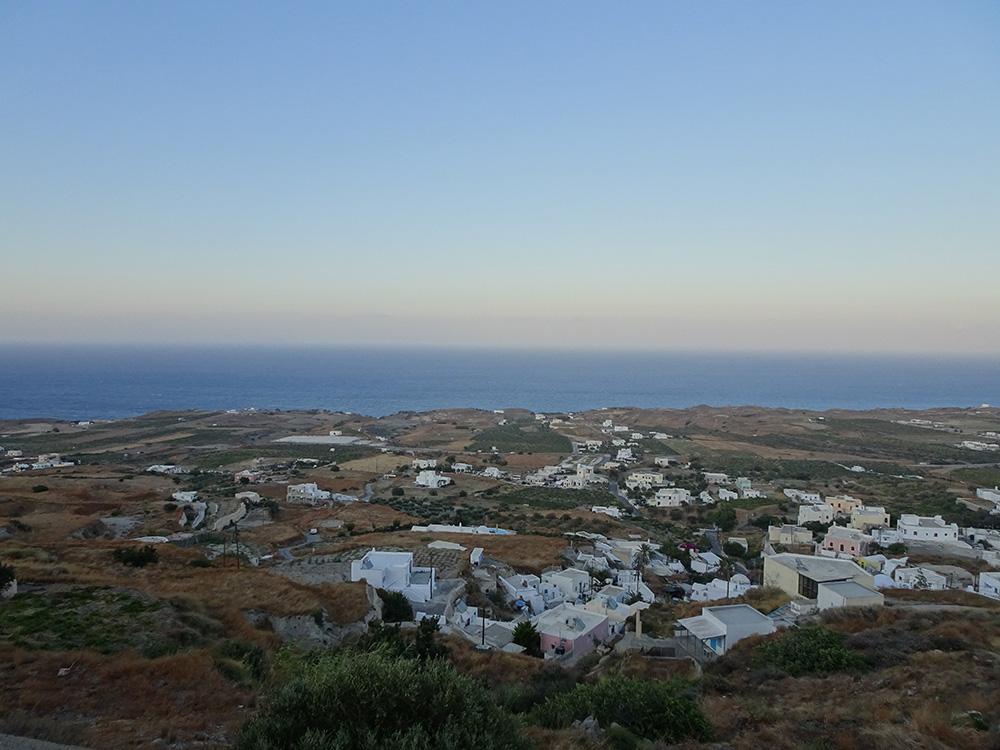 Uitzicht vanuit de villa