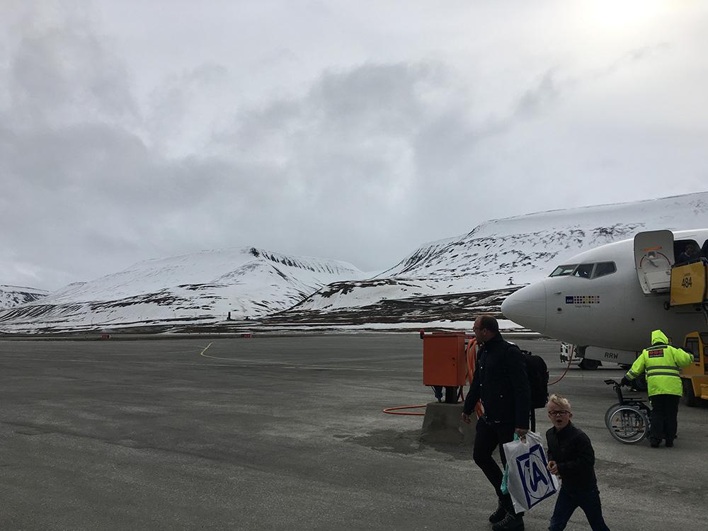 Luchthaven Svalbard Longyear