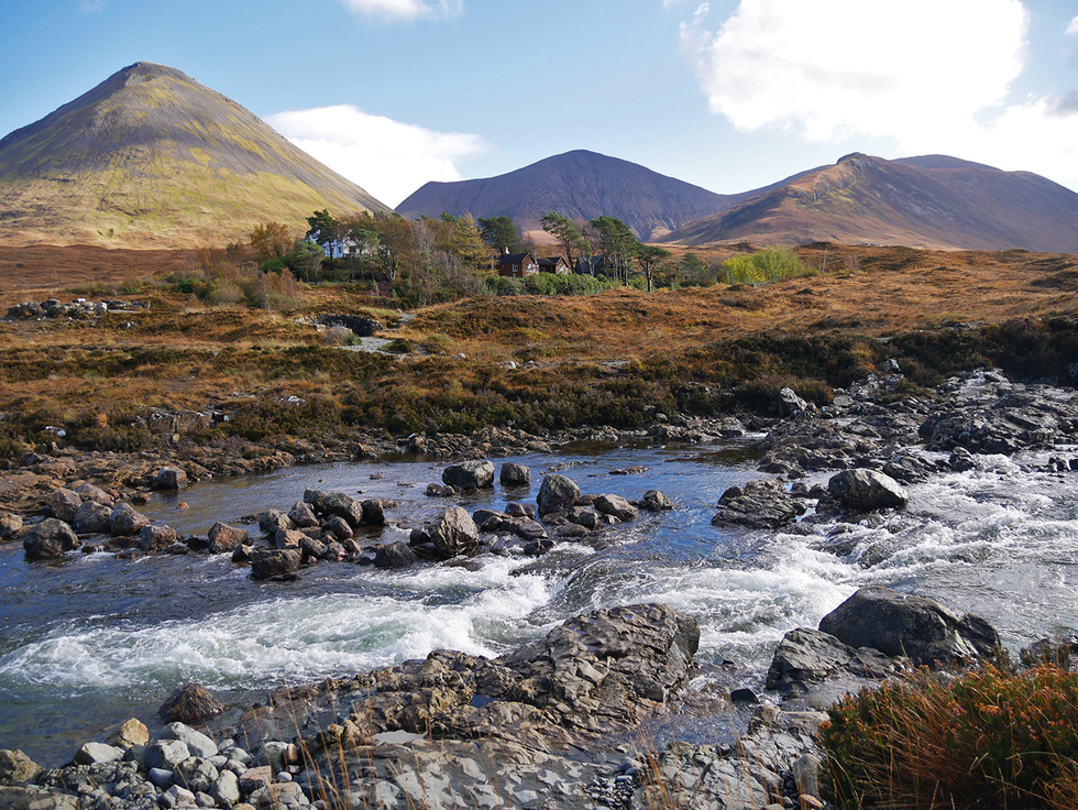Tijdens onze roadtrip door Schotland heb ik deze foto gemaakt. Een prachtig Schots landschap.