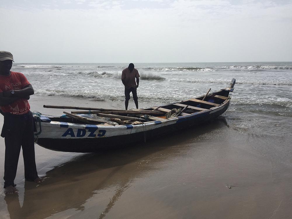 Hele gastvrije mensen in Ghana