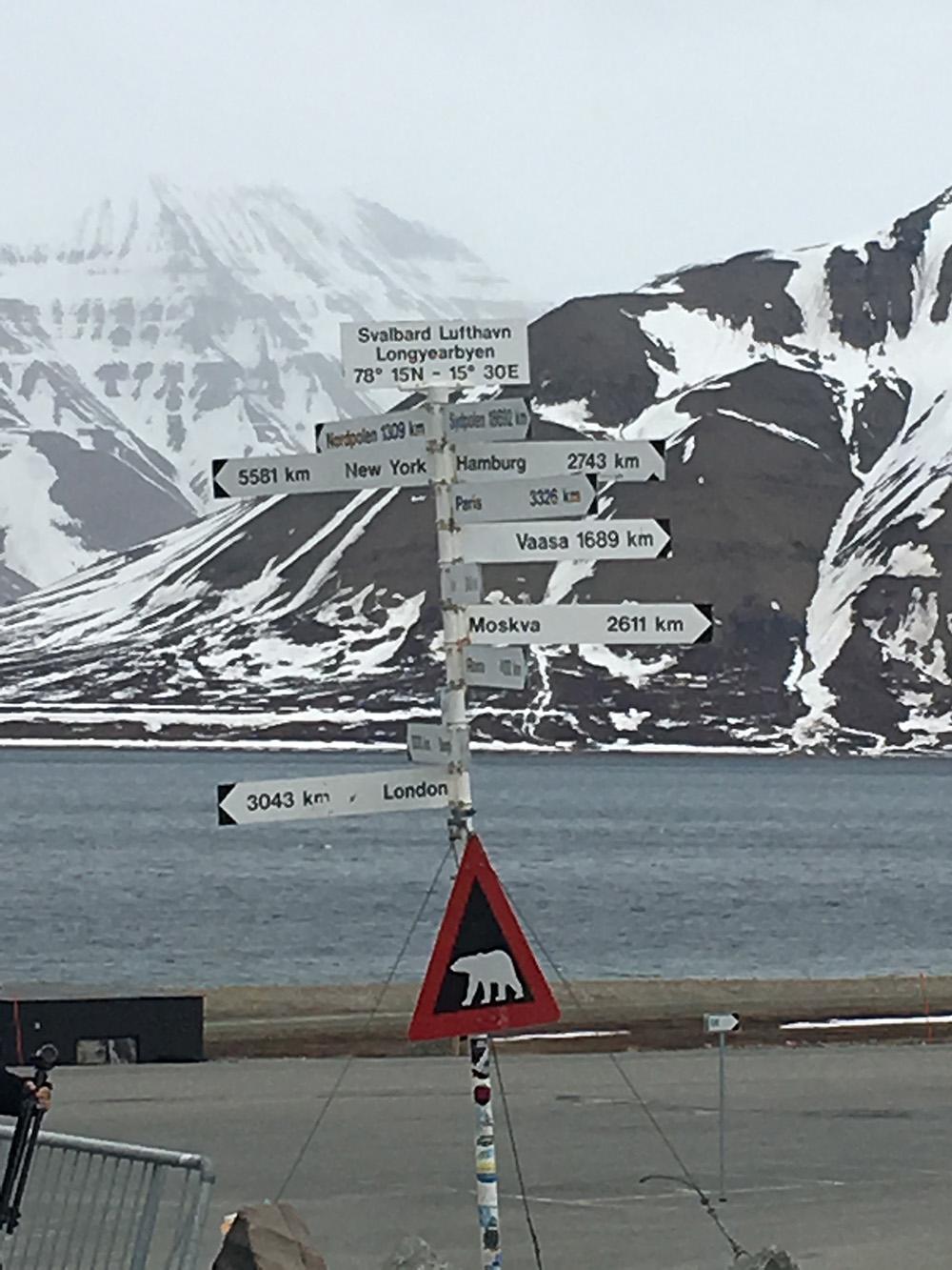 Longyearbyen - het meest noordelijke bewoonde punt op aarde