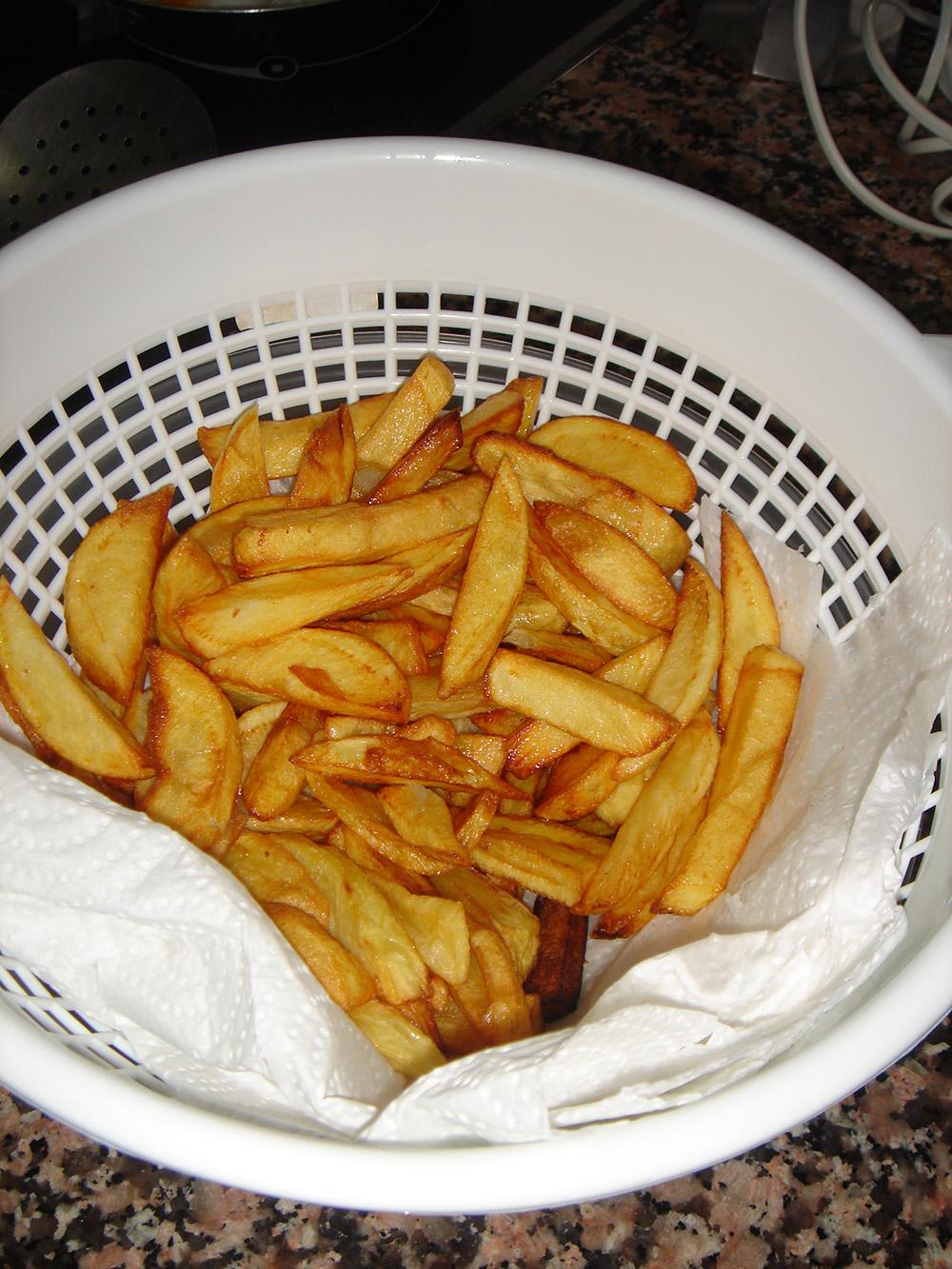 Belgische frietjes van Spaanse aardappelen