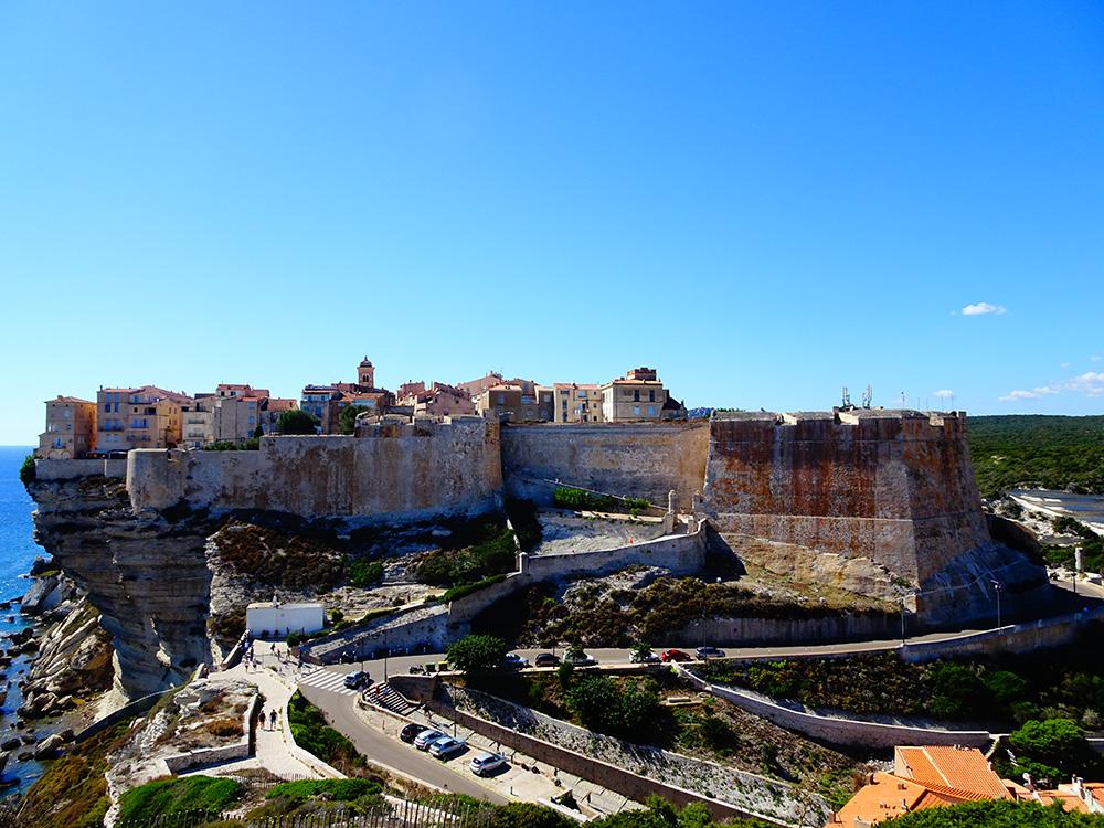 Bonifacio, de mooiste stad van Corsica