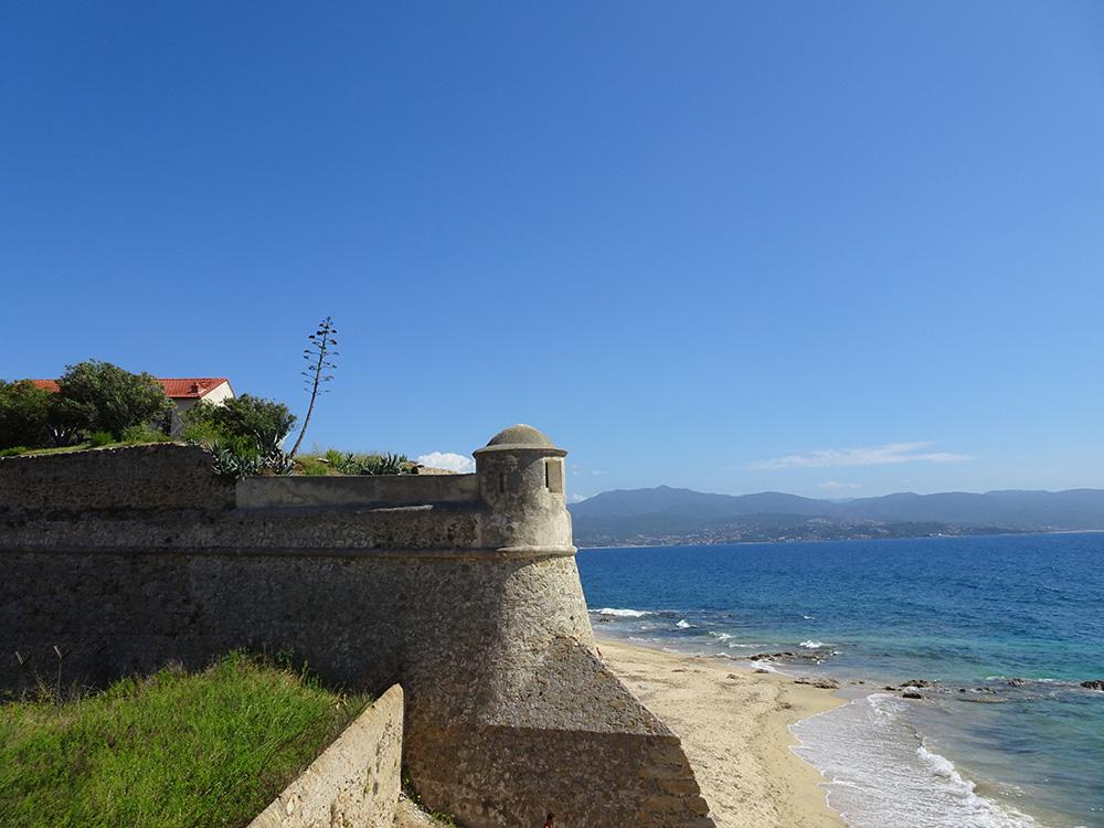 De citadel van Ajaccio