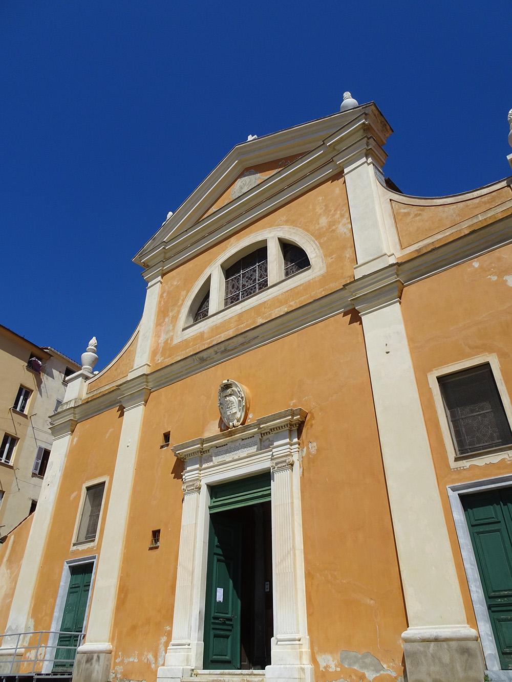 De kathedraal van Ajaccio