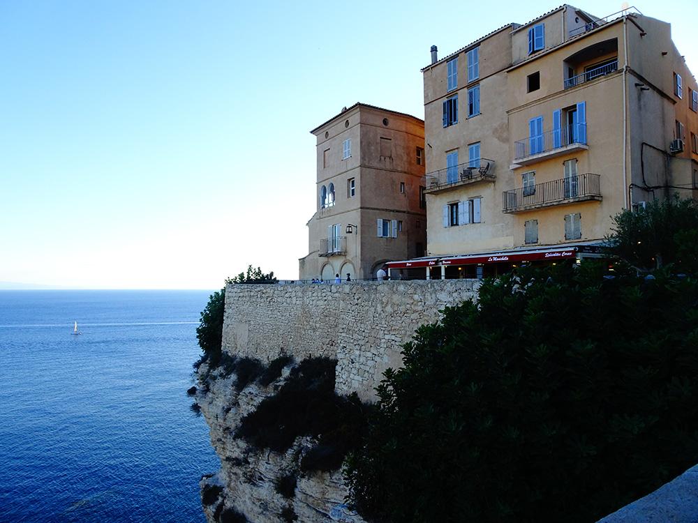 De oude stad Bonifacio