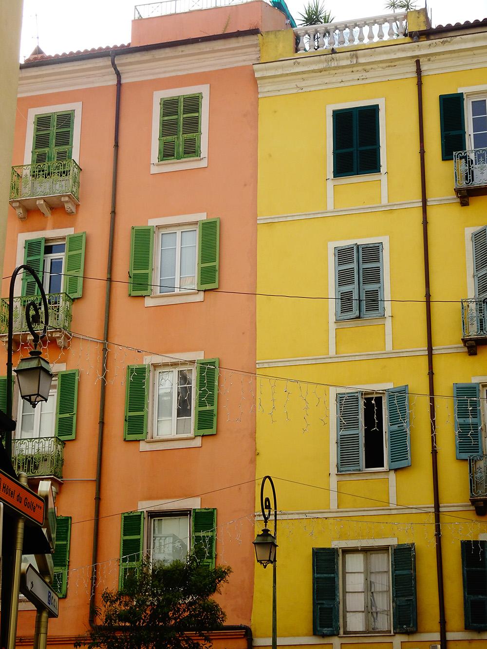 De prachtige gebouwen in Ajaccio