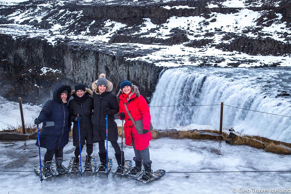 Bij Dettifoss - IJsland in de winter