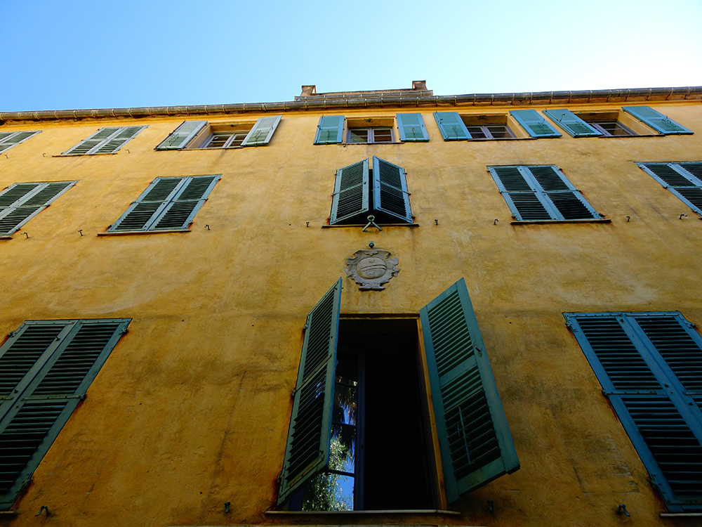 Het geboortehuis van Napoleon in Ajaccio - Corsica