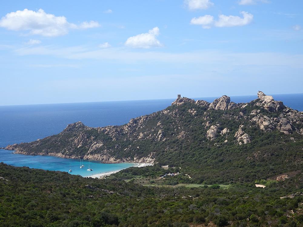 Het paradijselijke zuiden van Corsica