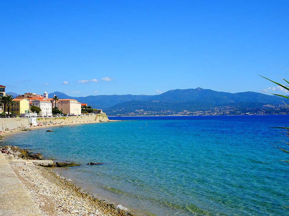 Het prachtige Ajaccio