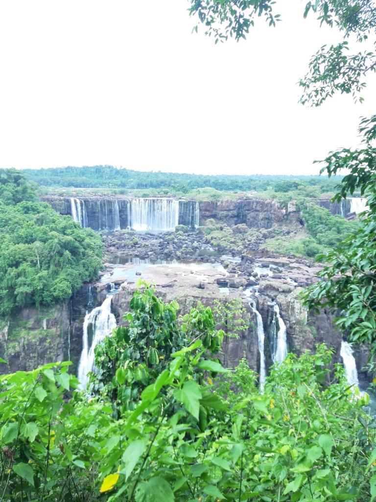 Waterval vanaf de Braziliaanse kant