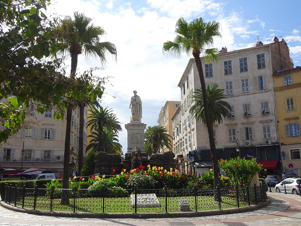 In Ajaccio-stad - Corsica
