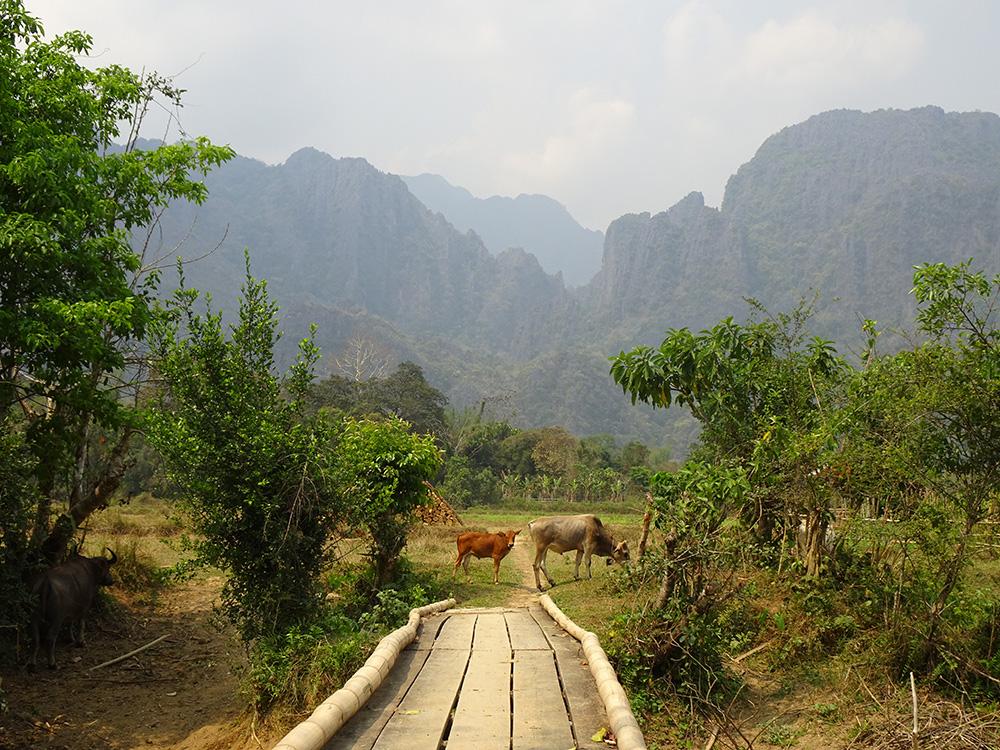Laos – Vang Vien - Dorien Cramer