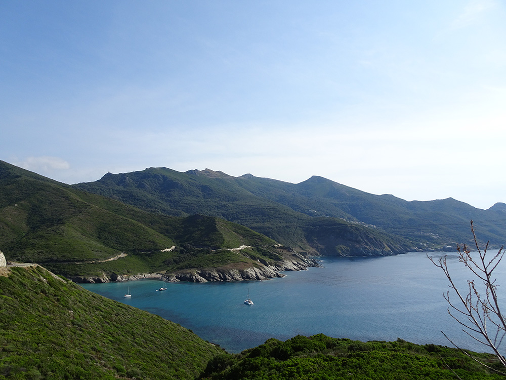 Prachtige panorama's op Cap Corse