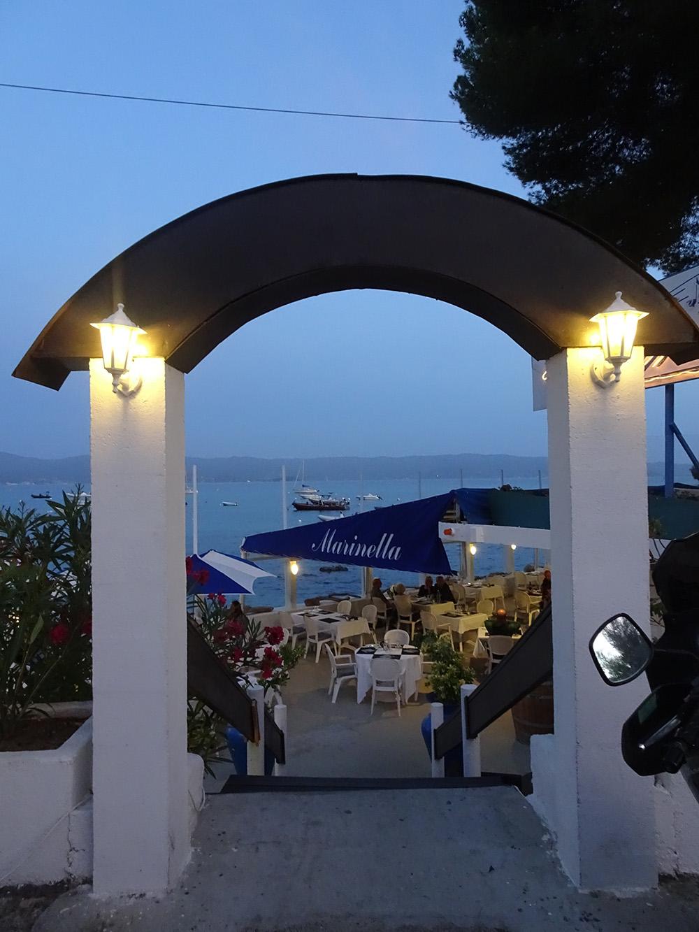 Restaurant la Marinella in Ajaccio