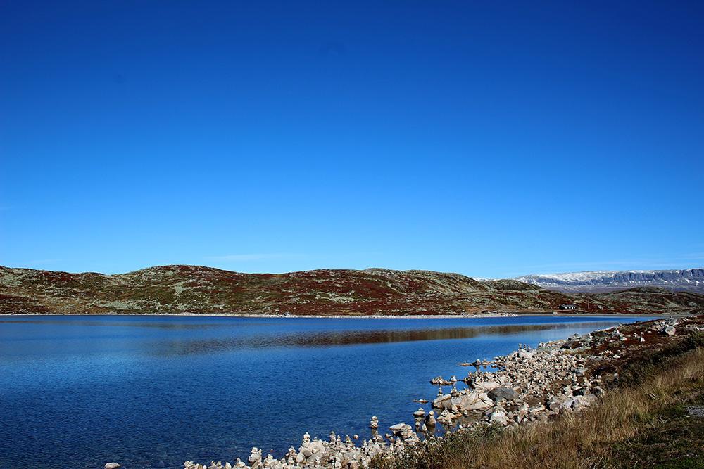 Ontelbare 'steenmannetjes' in nationaal park Hardangervidda
