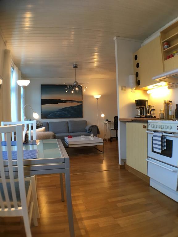 De eetkeuken van ons appartement YM40 in Bergen