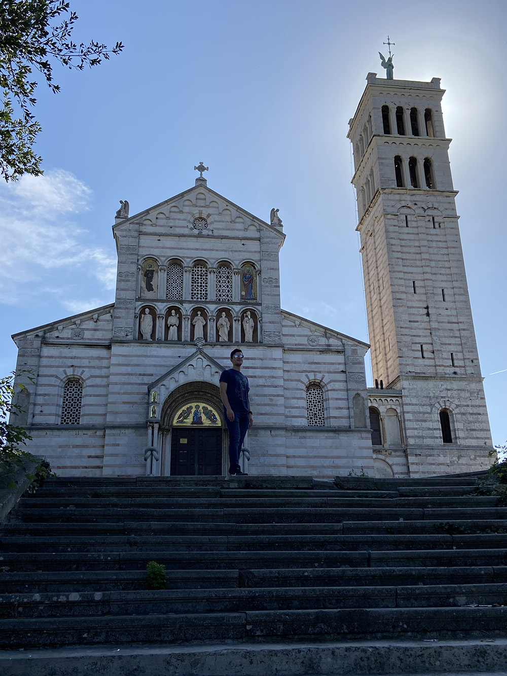 Kerk in Istrië
