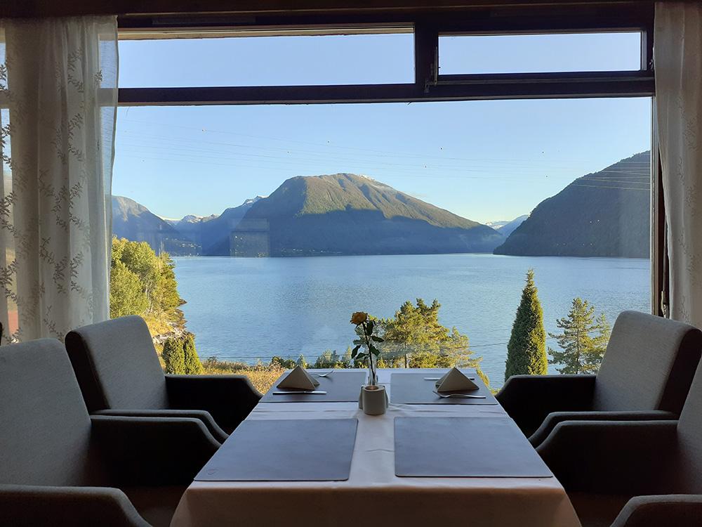 Zo'n uitzicht wil ik wel elke dag tijdens mijn ontbijt!