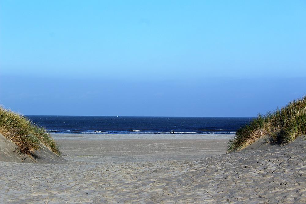 Ballumerduinen en de Noordzee