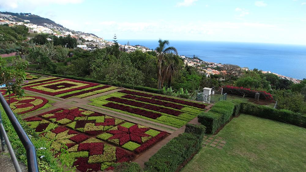 De botanische tuin van Funchal