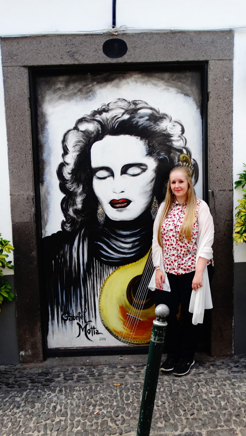Gastblogger Valerie in de Rua de Santa Maria