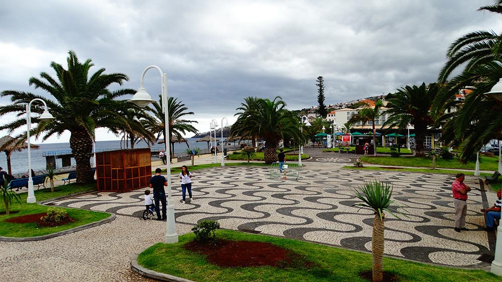Het mooie dorpje Santa Cruz