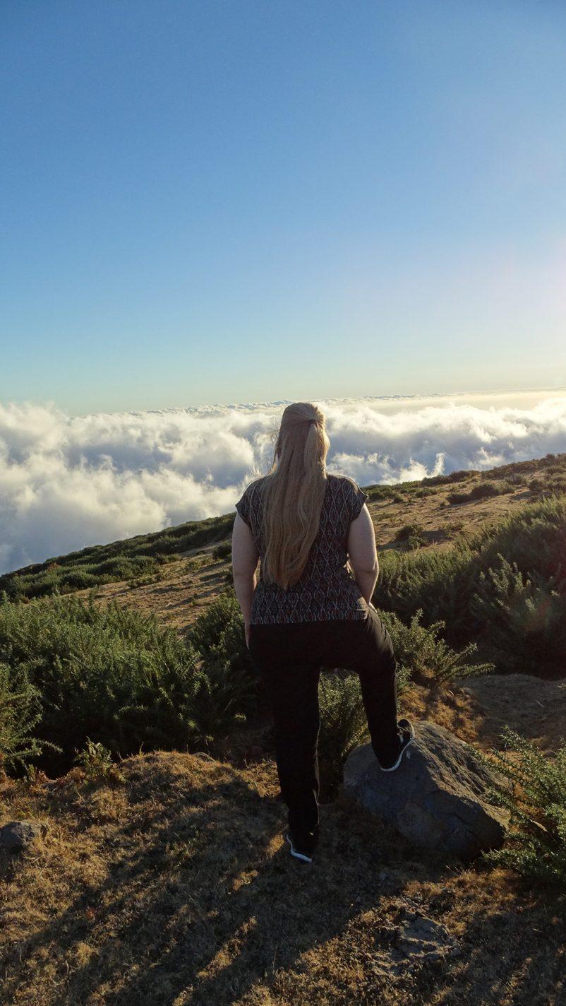 Hoog in de wolken op Paúl da Serra