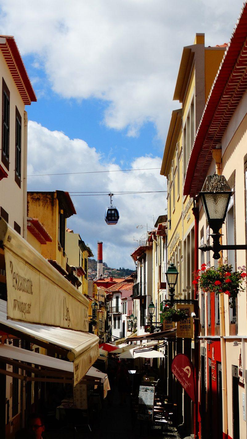 In het hartje van Funchal