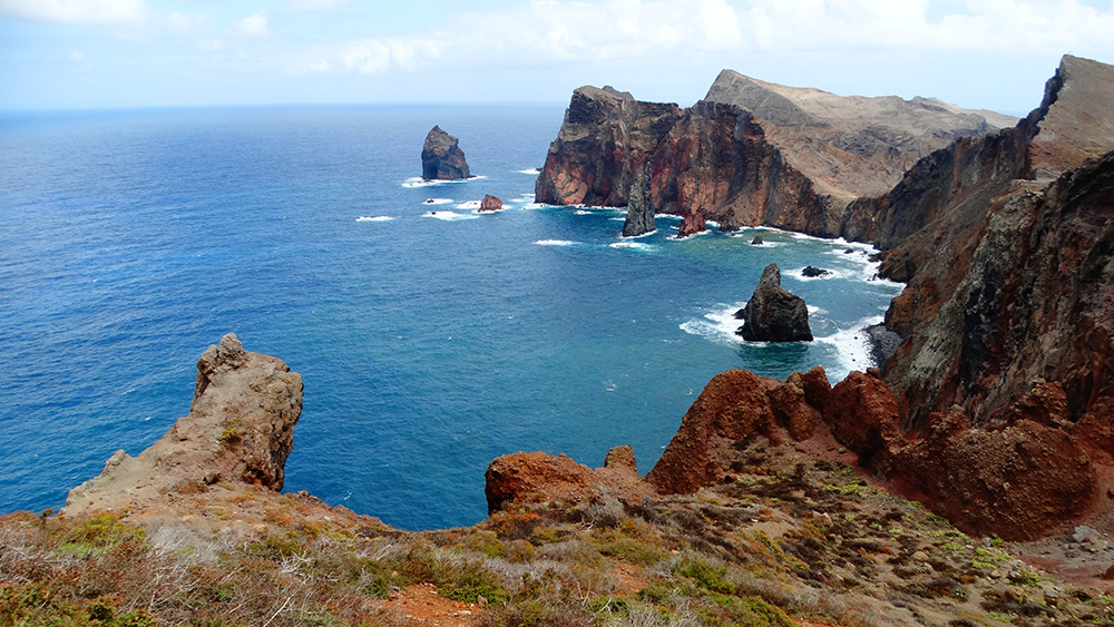 Ponta de São Lourenço en zijn steile kliffen