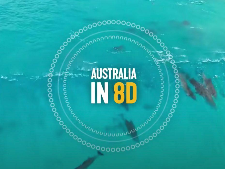 Australië in 8D sounds