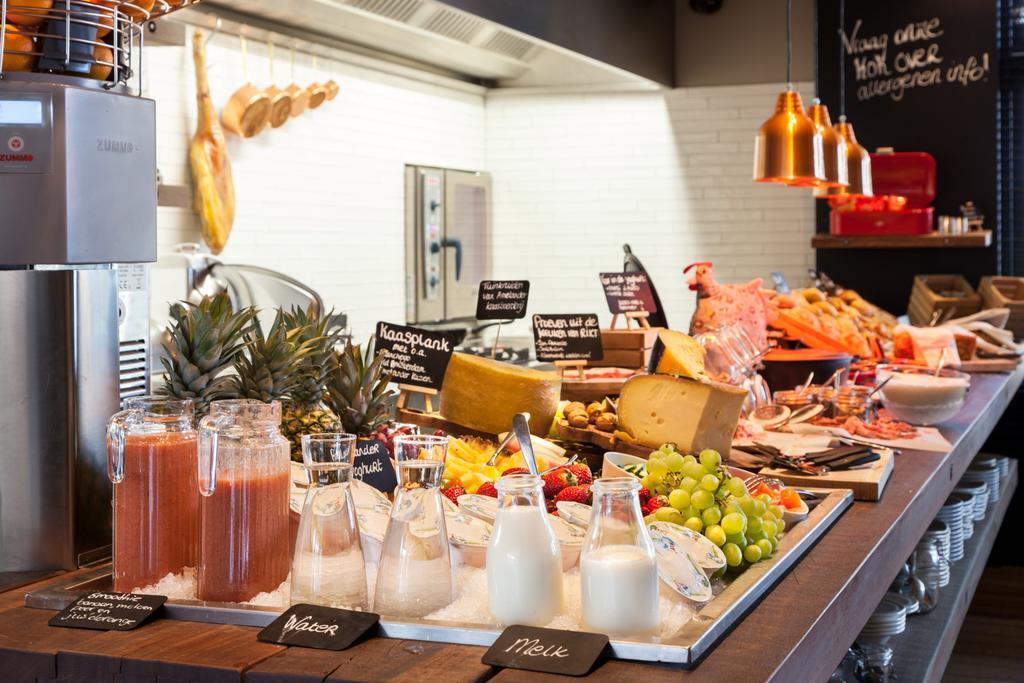 Het uitgebreide ontbijtbuffet van Hotel van Heeckeren