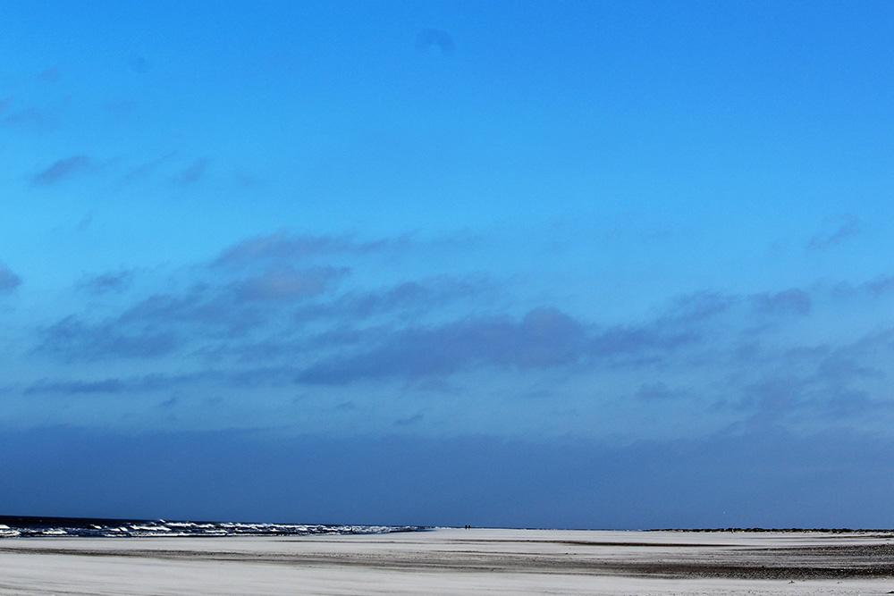 Wat een uitgestrektheid. Puur genieten op het strand tussen Ballum en Hollum