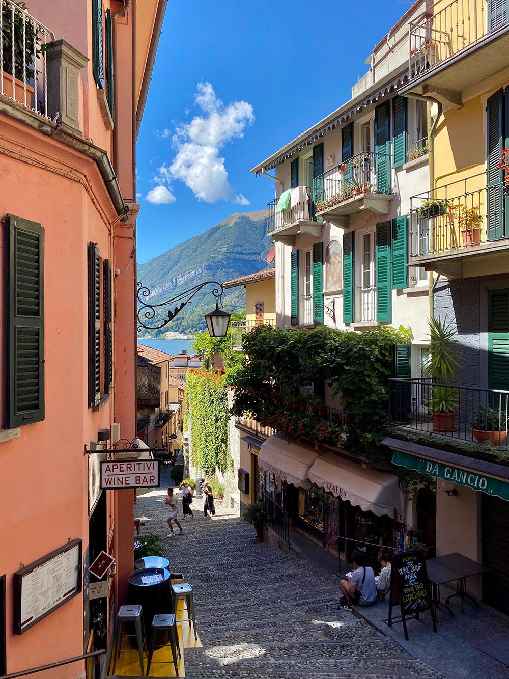 Het stadje Bellagio aan Lago di Como