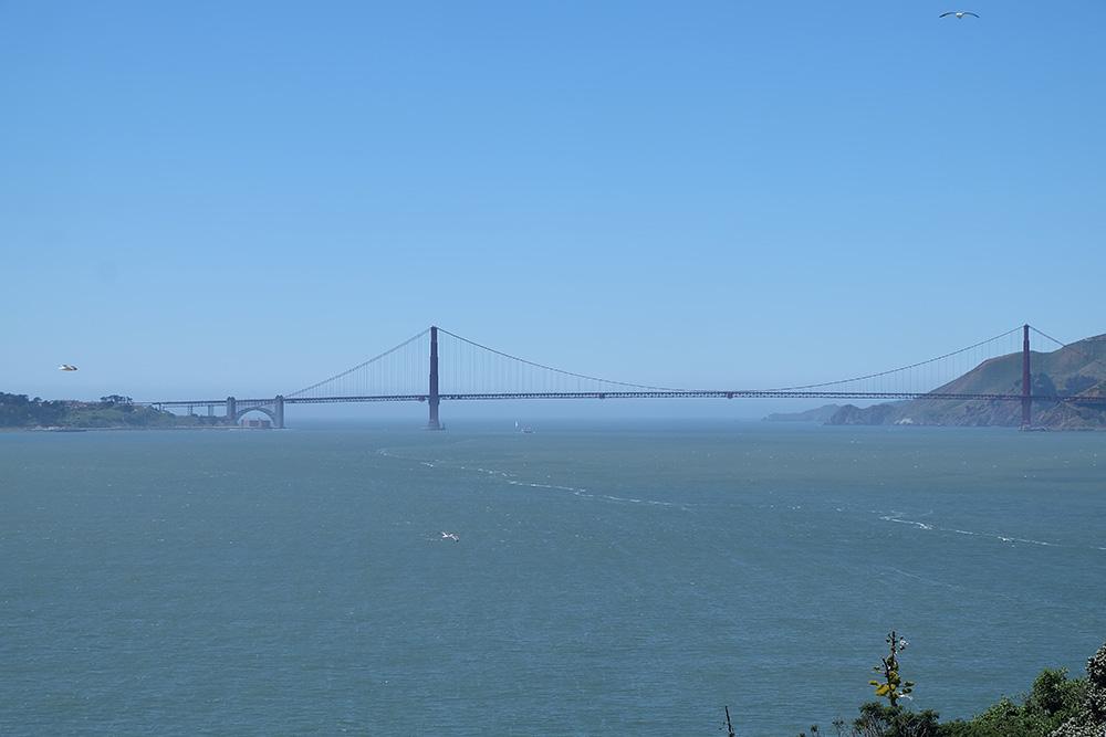 De Golden Gate Bridge - West-Amerika