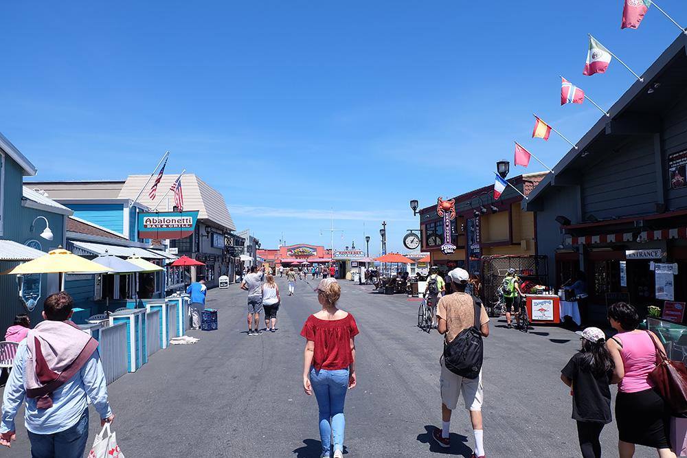 Het sfeervolle Monterey Bay - West-Amerika