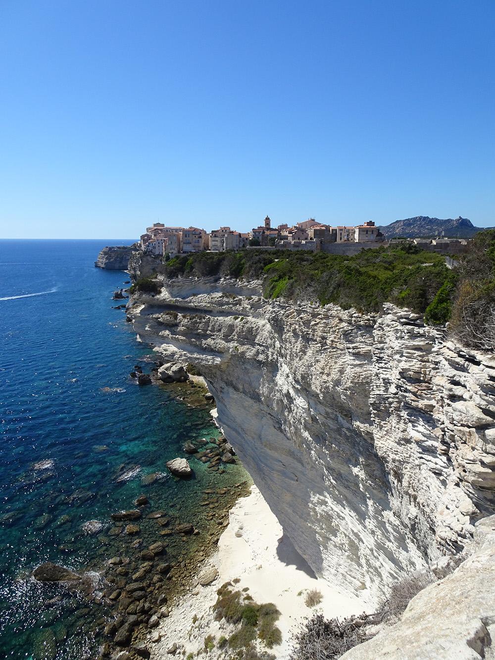 Het spectaculaire Bonifacio in Corsica - Europese eilanden