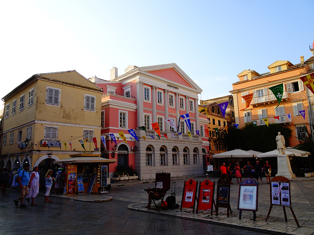 Kleurrijk Corfu